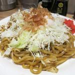 Yakisobashokudou - 名物! スパイスソース焼きそば 680円