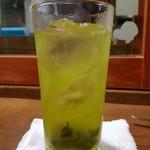 パーラー 小やじ - キンミヤ緑茶割り