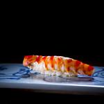 一心鮨 光洋 - 料理写真:名物・車海老の漬け握り
