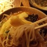 ラーメンBAR やきそばー HIT - 麺リフトwithヤングコーン