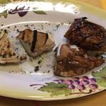 ラ・ヴィータ - 料理写真:フンギポルチーニの炭火焼き