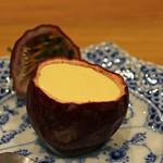 柚木元 - 熟した地元のパッションフルーツのムース
