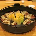 柚木元 - 熊肉のすき焼