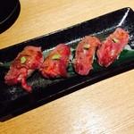 74296917 - 仙台牛炙り鮨