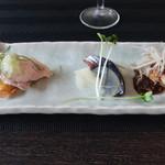 Chuugokuryourikujikuji - 前菜