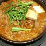 わらいや - 豆腐鍋