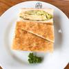ボンポアンカルダン - 料理写真:Aセットのサンドイッチ 680円 なんか、地味~だね・・・