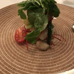 74298536 - 蒸し野菜のサラダ