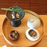 柚木元 - 料理写真:先付