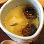 柚木元 - 松茸の茶椀蒸し