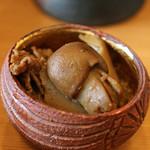 柚木元 - ショウゲンジ(正源寺)と云う茸は牛肉と共に
