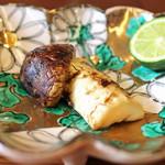 柚木元 - 松茸の炭火焼