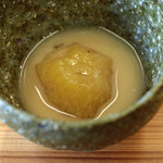 柚木元 - 無花果の白味噌仕立て