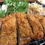 がんち - ロースカツ定食¥1,200