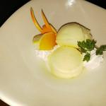 個室と肉バル CARNE - 柚子シャーベット