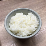 西天満 麺乃家 - 無料のごはん♪