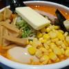 なまら - 料理写真:辛口味噌らーめん+バター・コーン・味玉・生ニンニク・メンマ 1100円