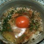 野菜バーる31 - 31のたまごかけご飯!卵が違います。