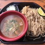 麺匠 たか松 - 「つけ麺(鷄魚介)」500円 (大つけ麺博 大感謝祭)