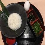 鍋の〆の雑炊セット