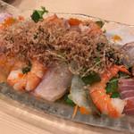磯丸すし - 海鮮ちらしサラダ