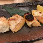 磯丸すし - サーモンハラス焼き