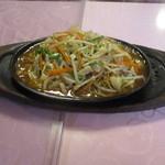 新天地 - 鉄板炒麺