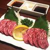 もつ鍋 龍 - 料理写真:馬刺し