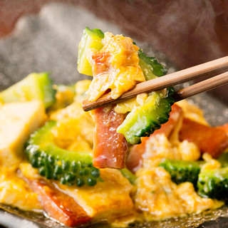 健康に良い沖縄食材をたくさん使った沖縄創作料理♪