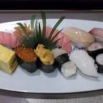 丸峰鮨 - 料理写真:特撰にぎり盛り合わせ 3500円