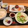 魚菜屋 なかむら - 料理写真:ランチの「おさしみ定食」(1200円)