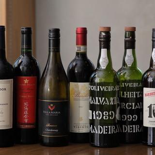 シニアソムリエ厳選のこだわりのワイン