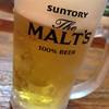 マンナ - ドリンク写真:生ビール
