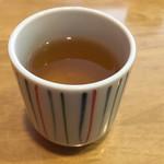 手打ち蕎麦 杜若 - そば茶