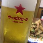 中華大千居 - 生ビール(中)