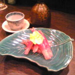 新田 - みょうがの甘酢