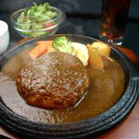 札幌牛亭 - ランチハンバーグセット