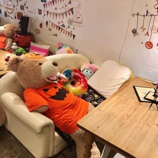 オールシーズカフェ - ここにもクマ