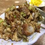 豊野丼 - 料理写真:かき天丼 かきアップ