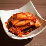 肉と日本酒 - キムチ