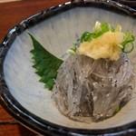 旬魚菜 しら川 - 生シラス 夜でもピンピンです
