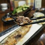 串ザンマイ - サンマ塩焼きアップその1