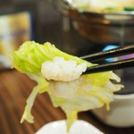串ザンマイ - もつ鍋その3