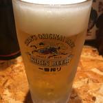 74326570 - 生ビールは一番搾り♪
