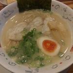 麺dining月乃家 - 豚骨塩ラーメン 2017年9月28日