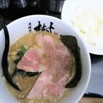 芳醇煮干 麺屋 樹 - 芳醇煮干ラーメン+ライス