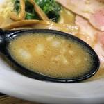 芳醇煮干 麺屋 樹 - スープ
