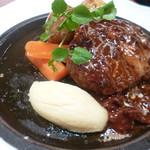 洋食 キッチン大宮 - 大宮特性ハンバーグステーキ