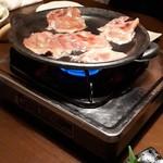 ちっちり - 陶板焼き
