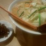 74331836 - 野菜たっぷりラーメン(味噌)